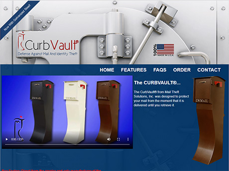 Curb Vault home page