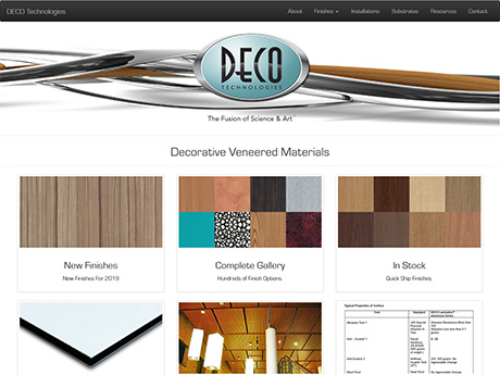 DECO Technologies, Inc. home page
